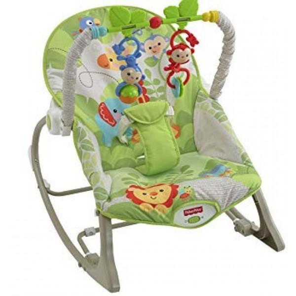 Fisher-Price Rainforest Infant-to-Toddler Rocker