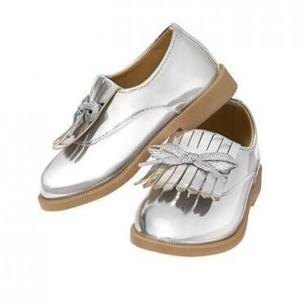 Crazy8 Metallic Fringe Oxford