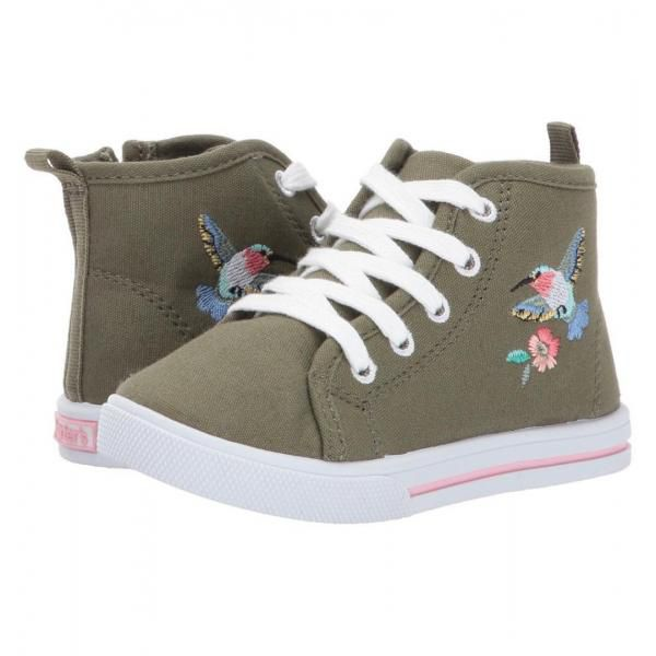 Carters Girl High Top Sneakers