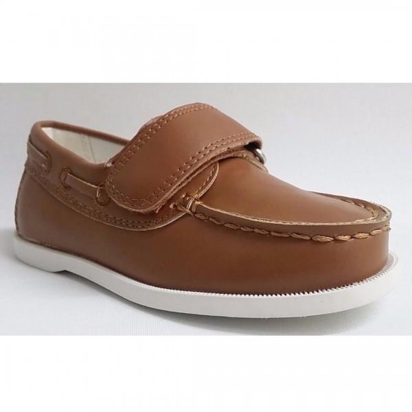 Auston Kids Faux Leather Shoes